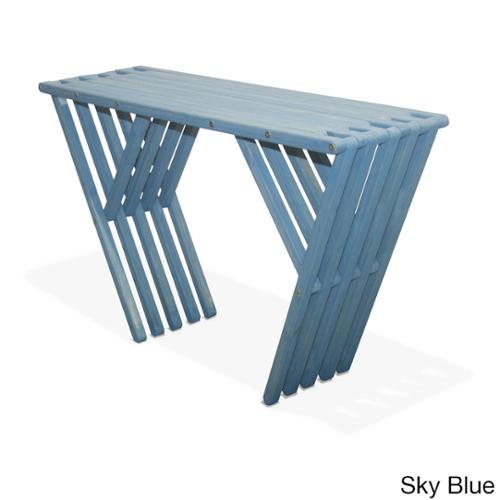 Eco Friendly Console Table X60 Made in USA Sky Blue