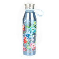 Product Image The Pioneer Woman® 18oz Double Wall Vacuum Insulated Blue Stainless Steel Water Bottle