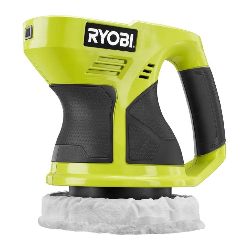 "Ryobi ONE+ Power Tools P430G 18V Volt 6"" Cordless Compact Orbital Buffer, Bare Tool by"