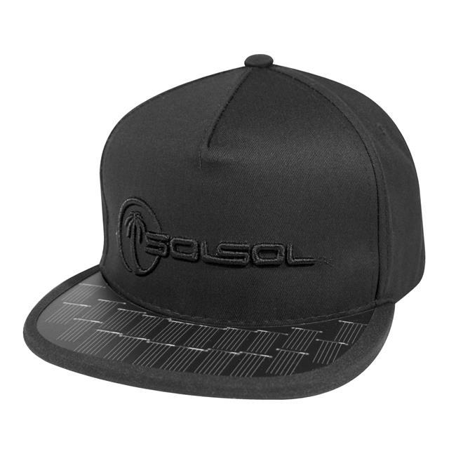 SOLSOL SS100 Poweraid Solar Hat Collection - Black