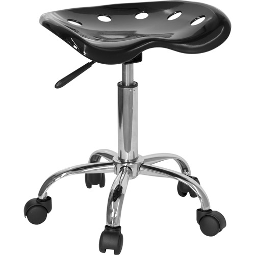 Adjustable Height Task Stool With Tractor Seat Multiple