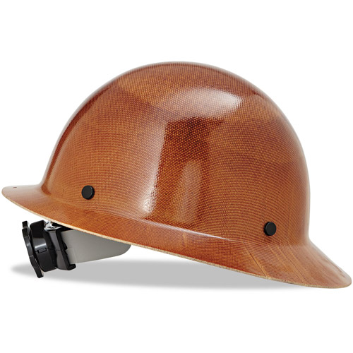 MSA Natural Tan Skullgard Class G Type I Hard Hat With Fas-Trac Suspension by MSA