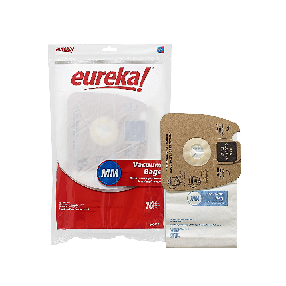 10 Genuine Eureka MM Mighty Mite 3670 3680 Canister Vacuum Bags