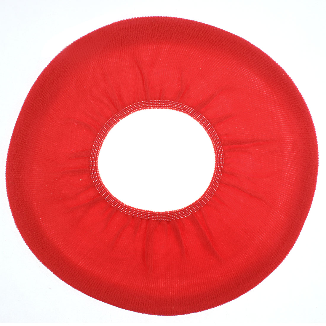 Home Bathroom Fleece Warmer Toilet Seat Lid Cover Cloth Mat Cushion Beige