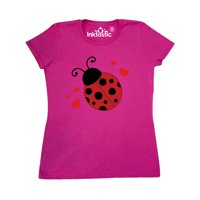 Lady Bug and Hearts Women's T-Shirt