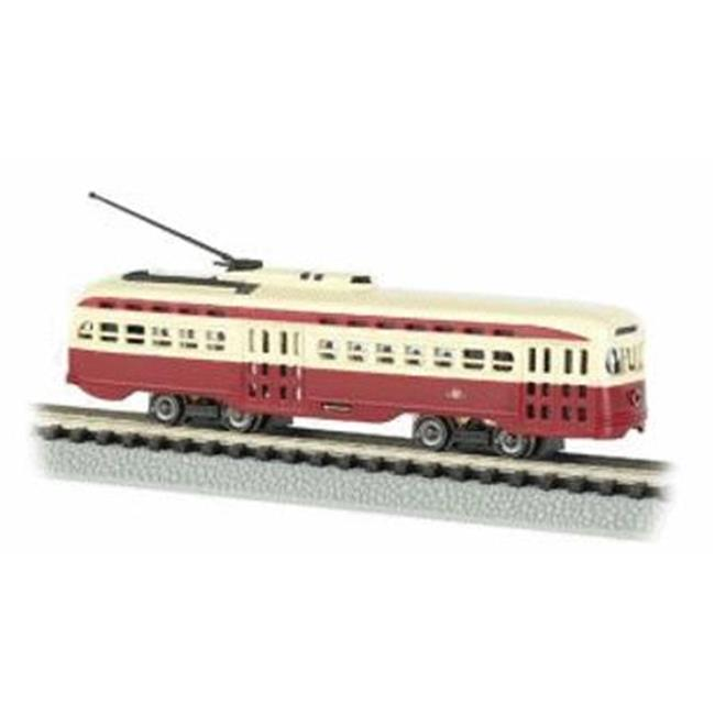 SPW BAC62993 N Scale Lighted PCC Trolley Toronto Transit