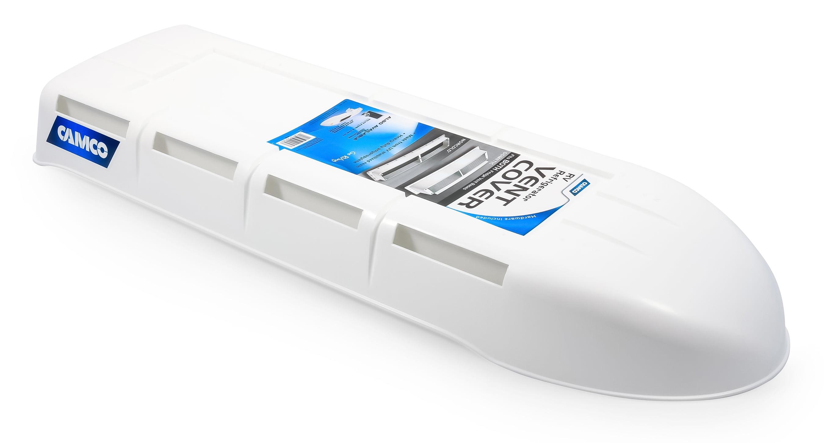 Camco 42160 Refrigerator Vent Cover Cover Only White Walmart Com Walmart Com