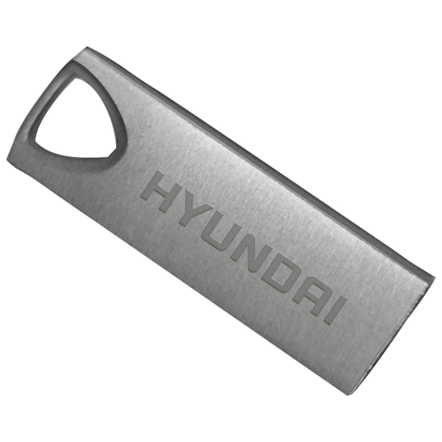Hyundai Technology U2BK/32GASG 32GB Bravo Deluxe USB 2.0 Flash Drive (Space Gray)