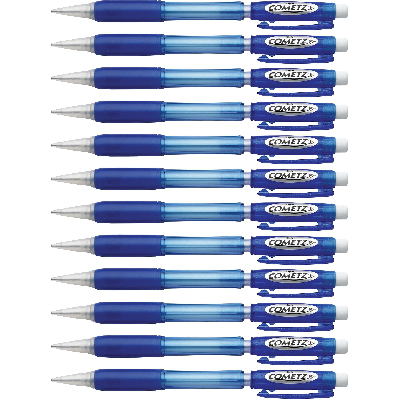 Pentel, PENAX119C, Cometz .9mm Automatic Pencils, 1 Dozen