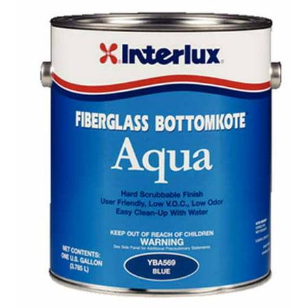 Interlux YBA579G  YBA579G; Fiberglass Bottomkote Aqua Black (Bottomkote Fiberglass)