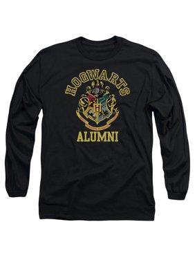 68011f794 Product Image Harry Potter Hogwarts Alumni Mens Long Sleeve Shirt