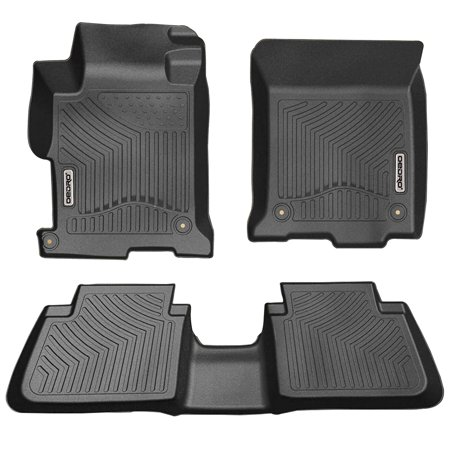 Oedro Fit For 2017 Honda Accord Sedans Floor Mats Liners All Weather Guard