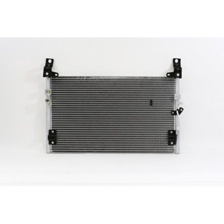 A-C Condenser - Pacific Best Inc For/Fit 3062 01-04 Toyota Tacoma 2WD/4WD/PreRunner Parallel Flow Aluminum w/o Receiver &