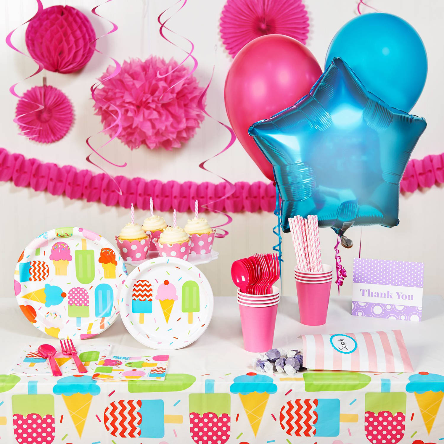 Ice Cream Party Theme - Walmart.com