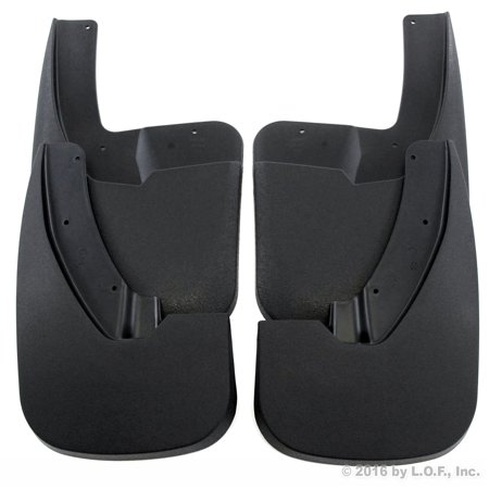 Heavy Duty Mud Guards for 2009-2018 Dodge Ram 1500 & 2010-2018 Dodge Ram 2500/3500 Front and Rear 4 piece Set (For models with OEM Fender (Fender Stone Guard)