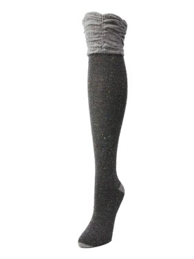 6deb5b319 Product Image MeMoi Lalea Scalloped Over the Knee Sock - High Socks for  Women by MeMoi One Size