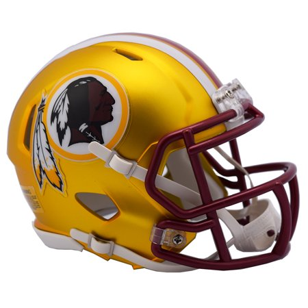 (Washington Redskins Helmet - Riddell Replica Mini - Blaze Alternate)