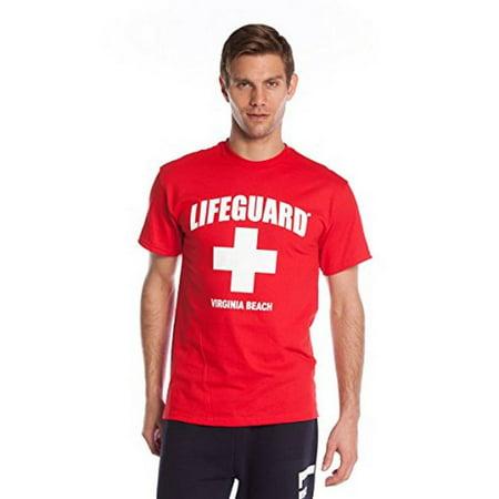 Official Lifeguard Guys Cross Design - Dog Lifeguard Shirt
