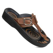 AEROSOFT - Fashion T-Strap Comfortable Arch Support Summer Sandals For Women