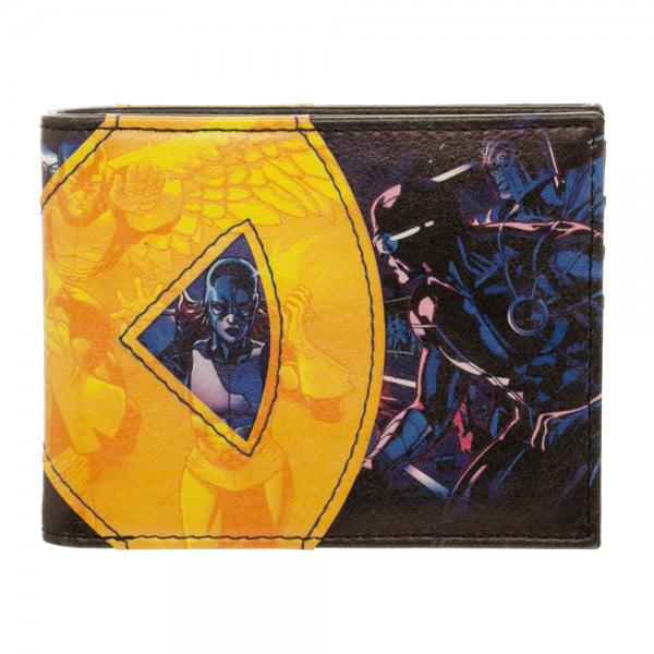 Wallet X-Men Fabric Applique Bi-Fold New Licensed mw4l9cxmn by BioWorld
