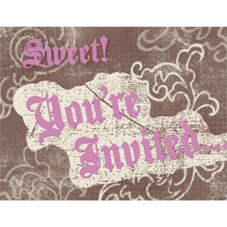 Sweet 16 Birthday Invitations 8 Count