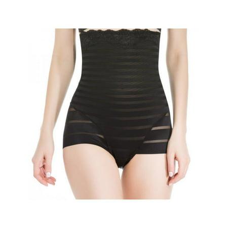 Topumt Women Lady High Waist Briefs Tummy Control Body Shaper Panties Underwear Shapewear Knickers