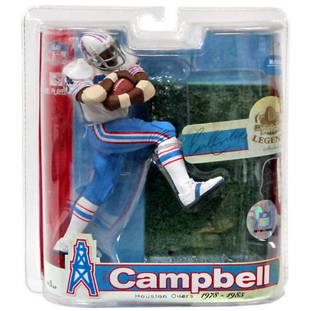 online retailer 5f9fa d0dad Earl Campbell Action Figure White Jersey Variant NFL Houston Oilers