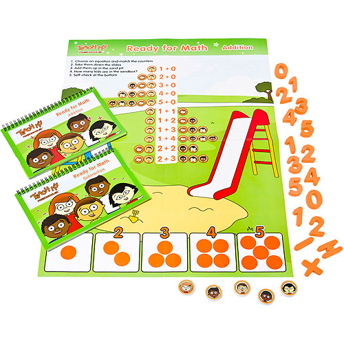 Teach My Preschooler Ready for Math