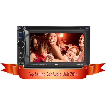 Xo Vision Xod1752bt In Dash 6 2  Touch Screen Multimedia Dvd Receiver With Bluetooth