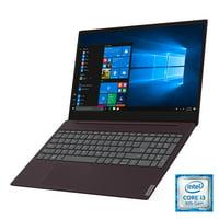 "Lenovo ideapad S340 15.6"" Laptop, Intel Core i3-8145U Dual-Core Processor, 8GB Memory, 128GB Solid State Drive, Windows 10 - Dark Orchid - 81N800SKUS"