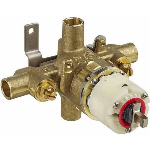 American Standard R120SS Rough Valve Only with Volume and Temperature Control and Direct sweat Inlets/Outlets with Screwdriver Stops without Trim