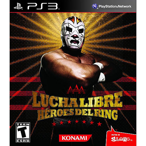 Lucha Libre: AAA Heroes Del Ring (PS3) - Pre-Owned