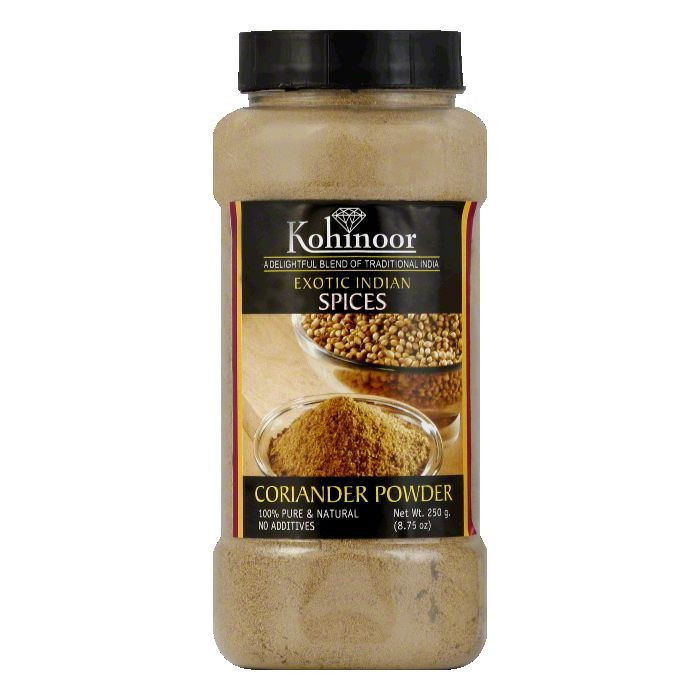 Kohinoor Coriander Powder Spice, 8.03 OZ (Pack of 6)