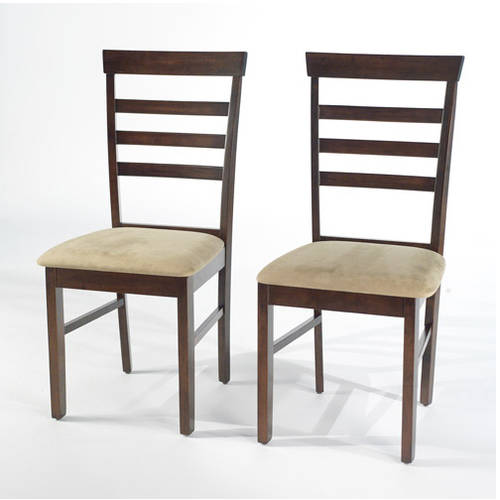 Havana Dining Chairs, Set of 2, Espresso by n/a
