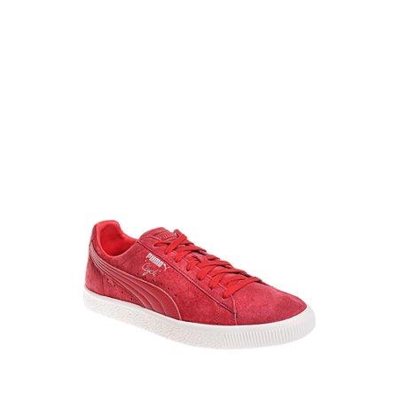 7afaf556eec PUMA - puma men s clyde normcore sneaker - chili pepper   chili pepper -  Walmart.com