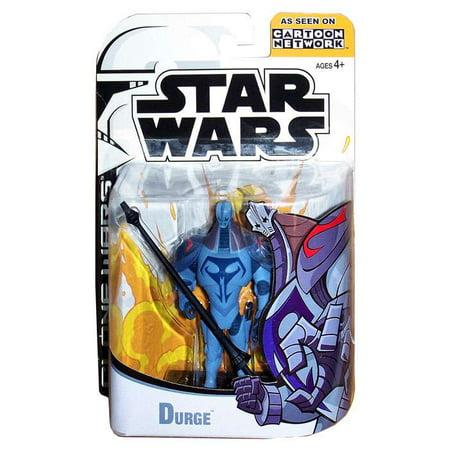 Star Wars Clone Wars Cartoon Network Durge Action (100 Best Cartoon Characters)