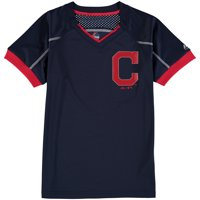Cleveland Indians Majestic Youth Emergence T-Shirt - Navy