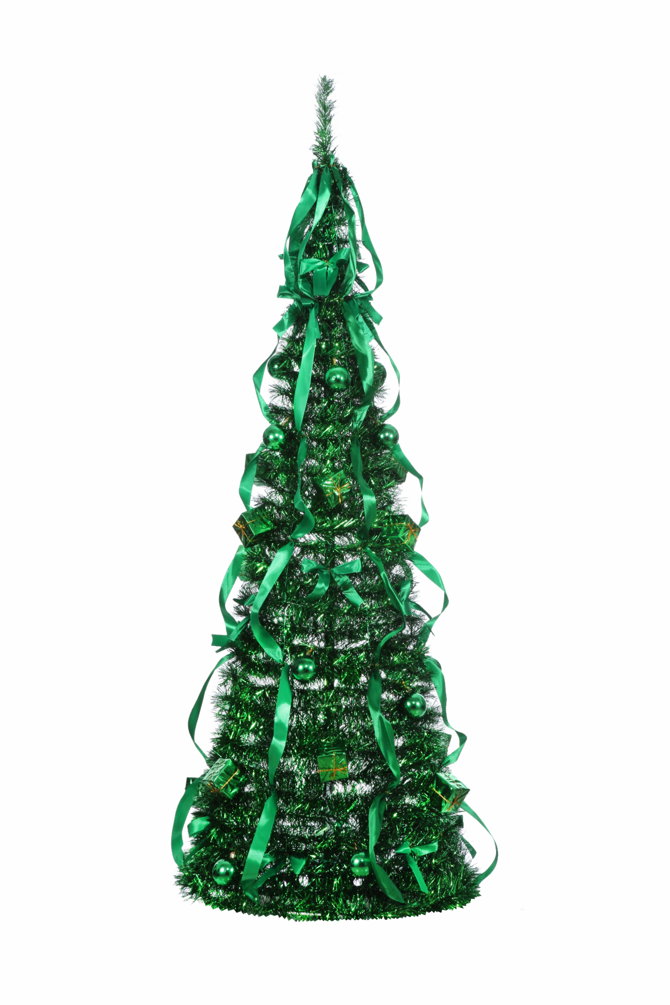 Homegear 5FT Artificial Decorated Collapsible Christmas Tree Xmas ...