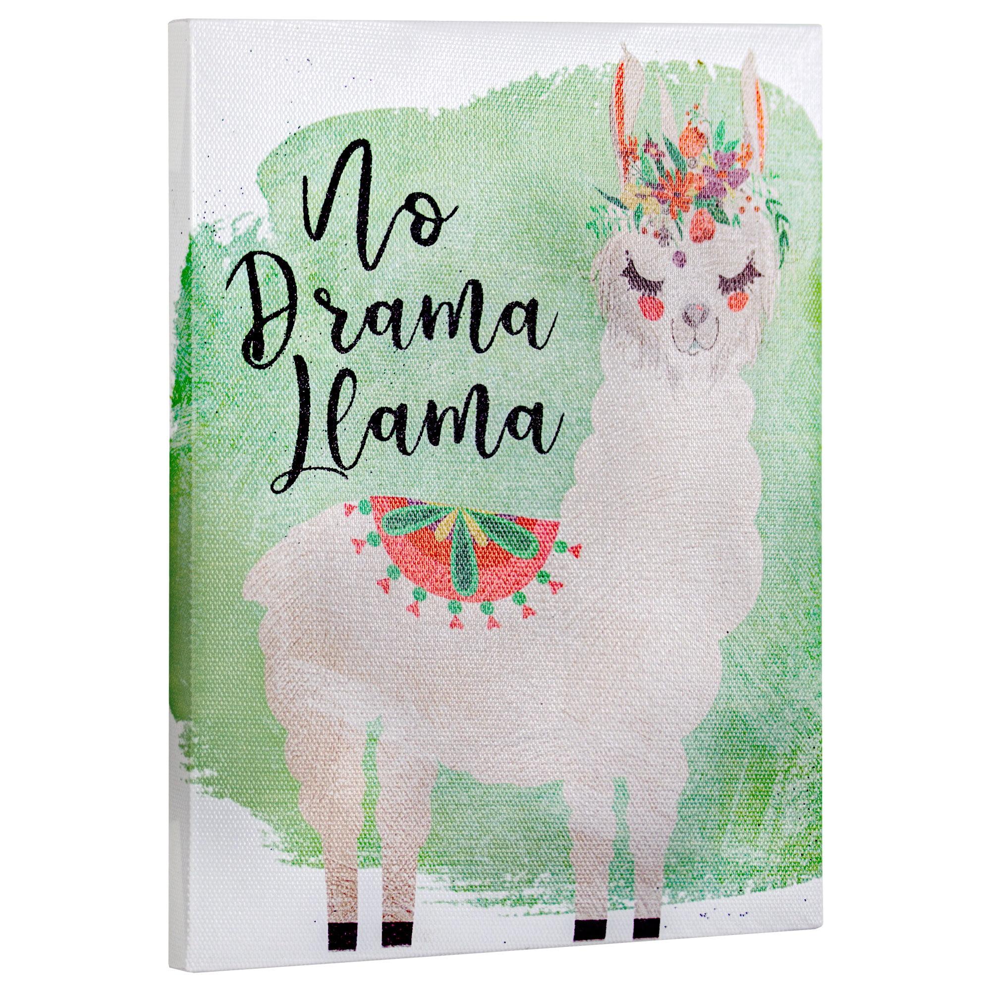 No Drama Llamas!