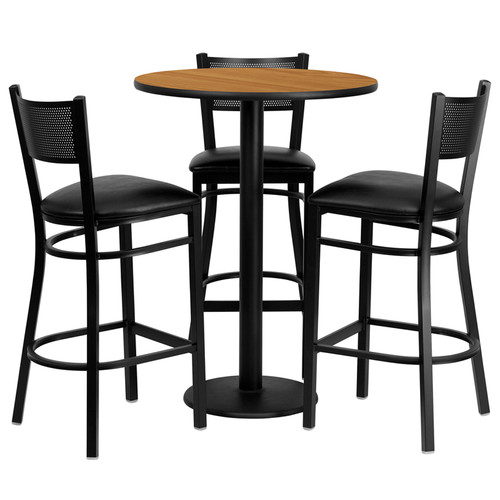 Flash Furniture 4 Piece Pub Table Set