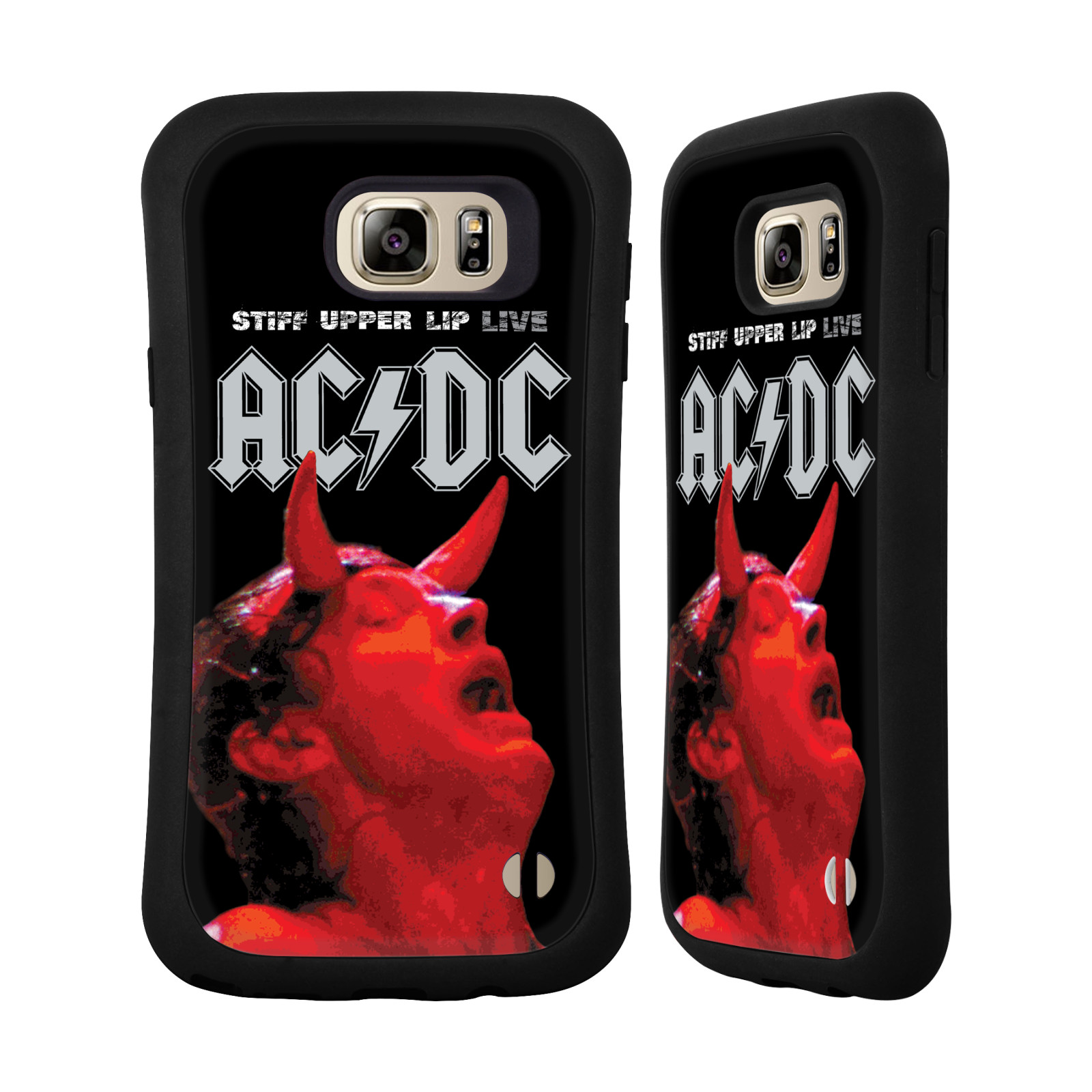 OFFICIAL AC/DC ACDC ALBUM ART HYBRID CASE FOR SAMSUNG PHONES