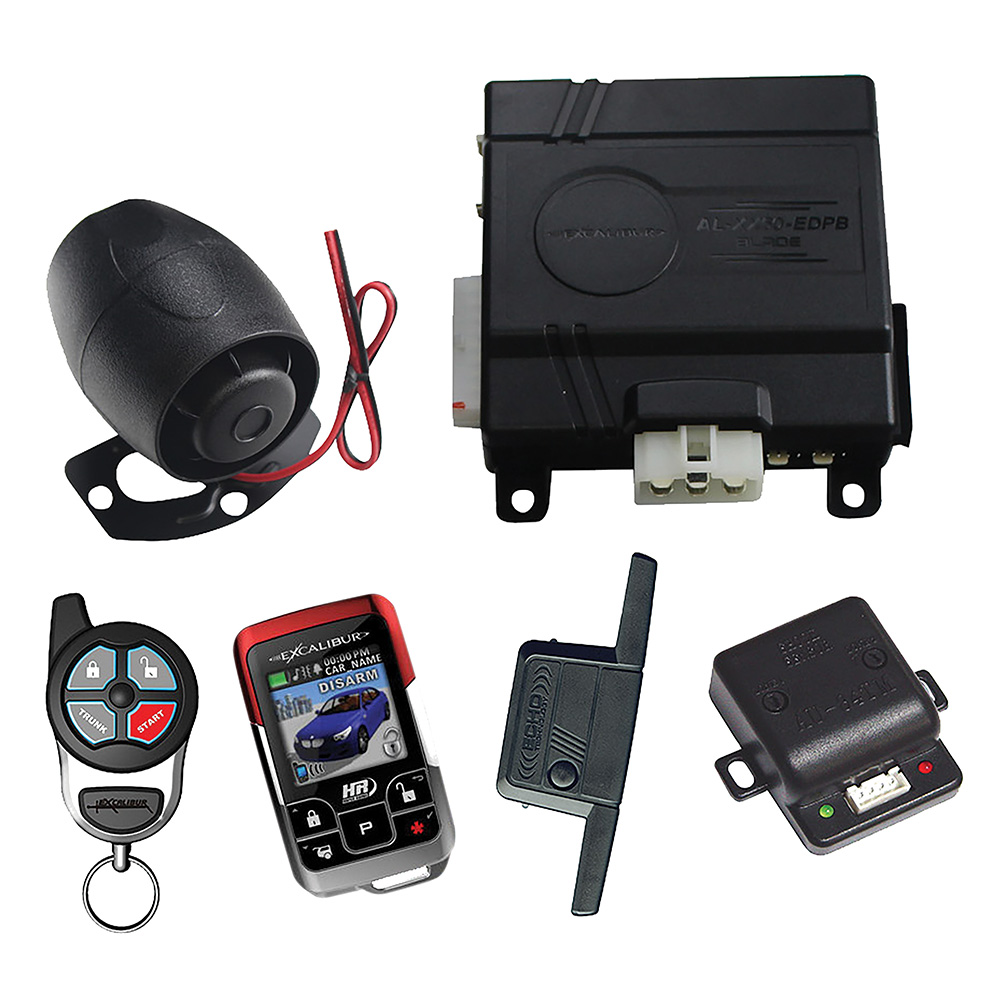 Omega 1 Mile Color 2-Way Security & Remote Start Alarm Combo (Replacement remote-15607)