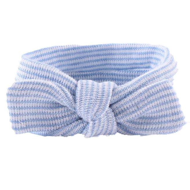 Outtop Fashion Girls Bowknot l Hair Band Baby Head Wrap Band Accessories Blue