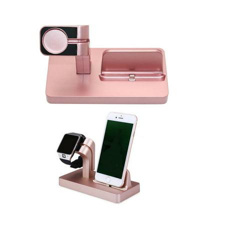 rose gold charging dock stand station charger holder for