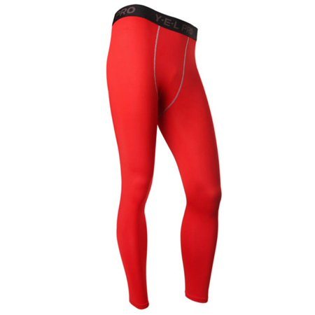 Tight Base Layer Bottom (Mens Compression Base Layer Pants Tight Long Leggings Gym Sports Gear)