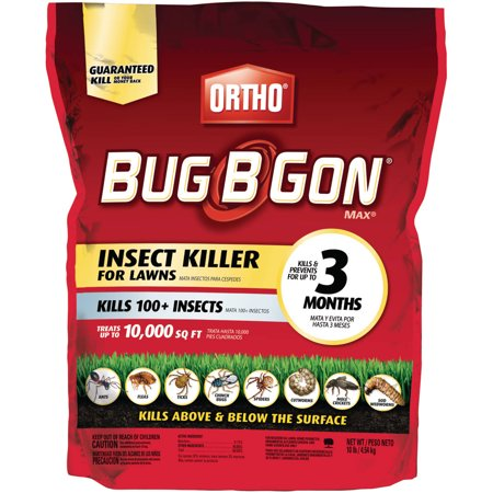 Ortho Bug B Gon Max Insect Killer For Lawns Granules  10 Lbs