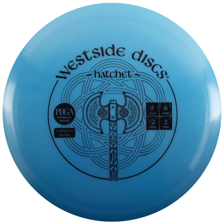 Westside Discs Tournament Hatchet 170-172g Fairway Driver Golf Disc [Colors may vary] - 170-172g