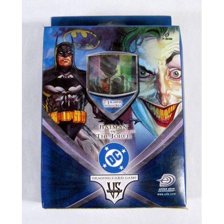 Upper Deck Batman vs The Joker DC Starter Set Box Trading Card