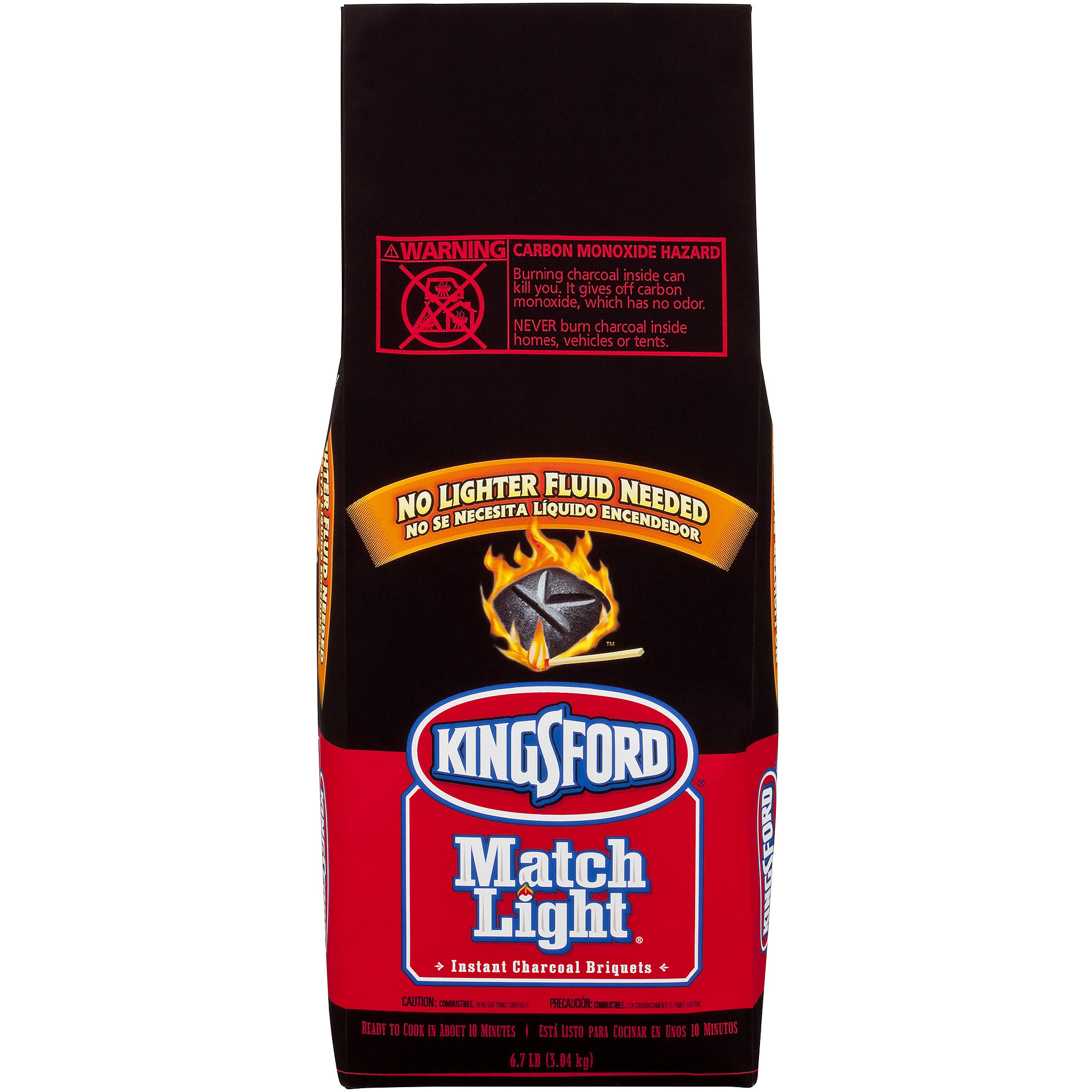 Clorox Sales 30485 Kingsford Match Light Briquett 6. 7 Lbs.