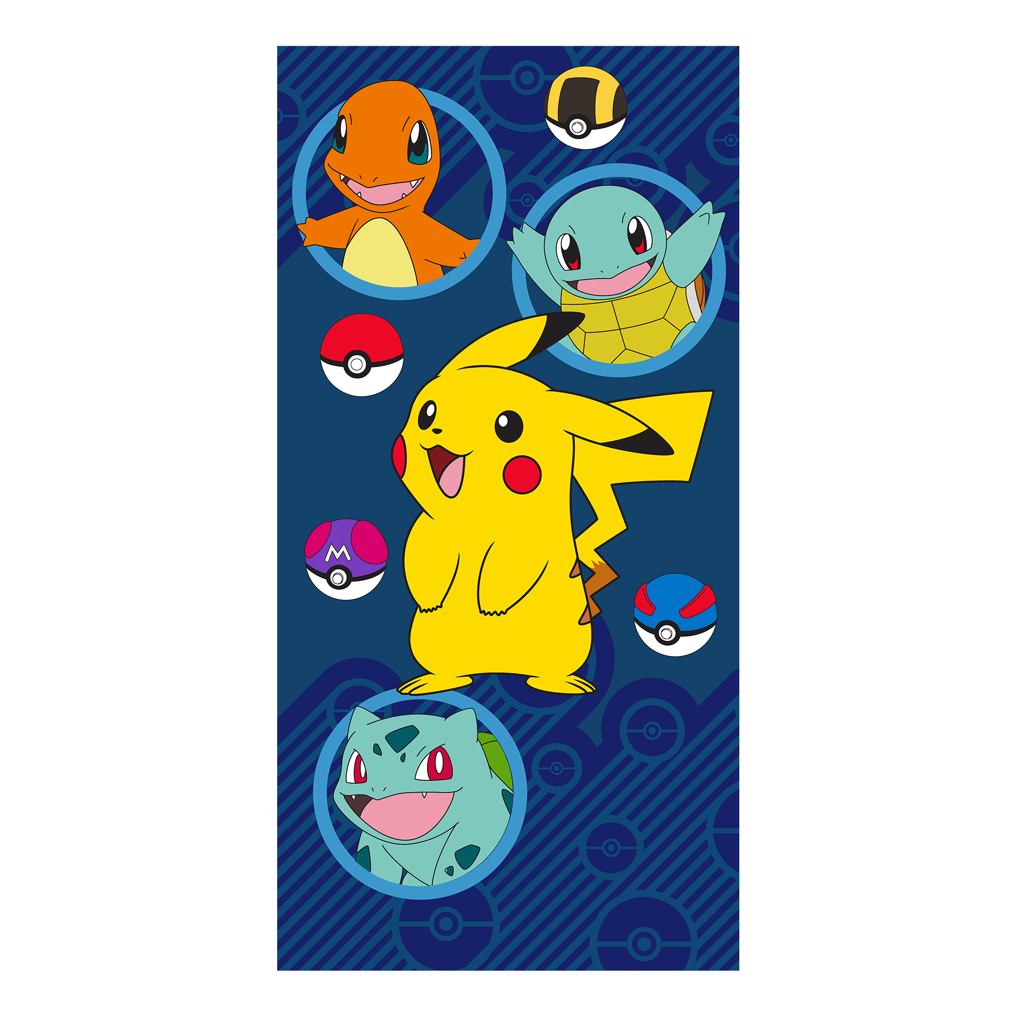 Pokemon Kids 2Pc Bath Towel and Wash Cloth Set, 1 Set Each
